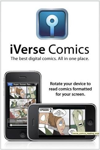 AppStoreiVerseComics001
