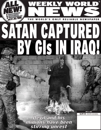 post your favourite weekly world news covers headlines articles